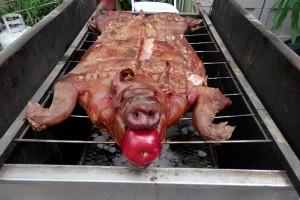 lechon aado puerco asado roasted pork bbq