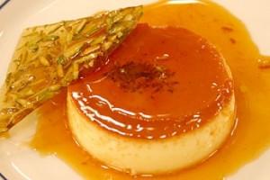 caramel custard flan dessert